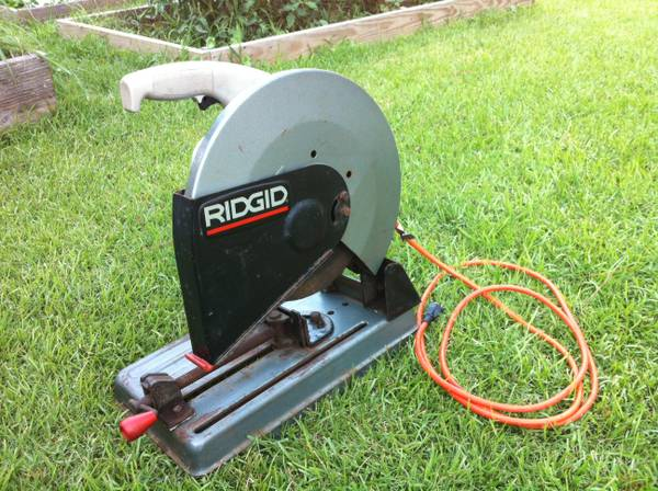 14 in Abrasive Cut Off Machine  Power Tools  RIDGID Tools