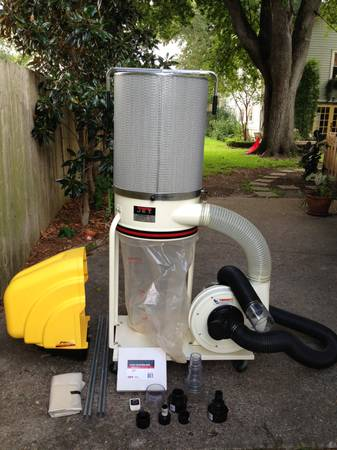 Jet Dust Collector DC-1100RC - $525 (Metairie)