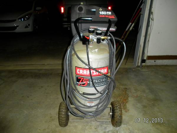 SEARS CRAFTSMAN 30 GAL. COMPRESSOR - $300 (Belle Chasse, La)