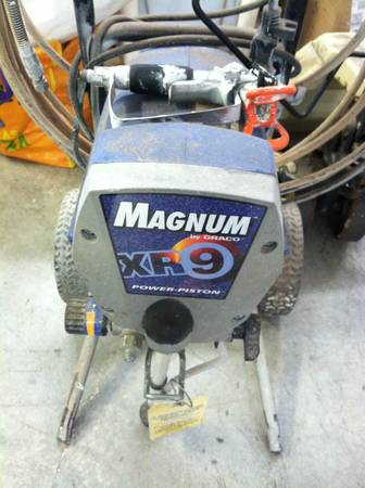 Graco XR9 Magnum Airless Paint Sprayer - $250 (Gretna)