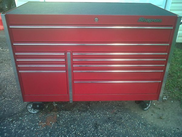 Snapon toolbox KRL series candy red . Good deal snap-on matco mac - $4500 (florida to n.o. )