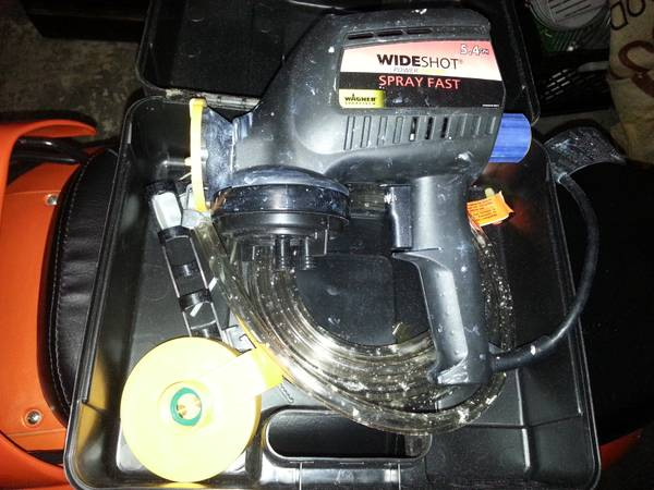 wagner wide shot power sprayer - $30 (marrero)