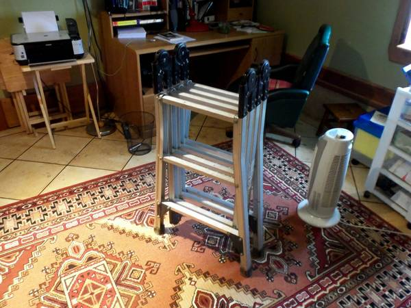 Westway 12 Folding Trestle Ladder - $50 (Carrollton)