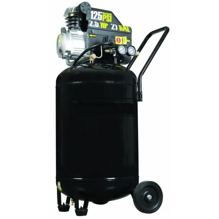 2.5 HP, 21 Gallon Air Compressor - Broken, For Parts Repair, AS IS - $30 (Metairie)