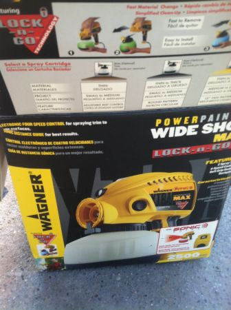 Wagner Power Painter Wide-Shot Pro Lock-n-Go - $40 (Slidell, LA)