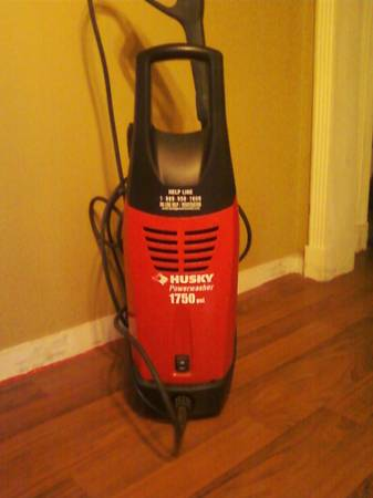 Husky 1750 psi Electric Pressure Washer - $100 (Algiers Point)