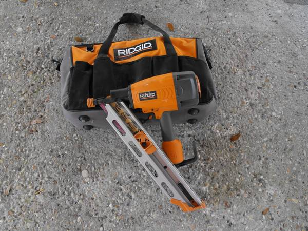 Rigid 3 12 Framing Nail Gun - $100 (Pearl River)