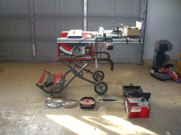 Craftsman Professional  15  10 Portable Table Saw - $340 (NEW ORLEANS)