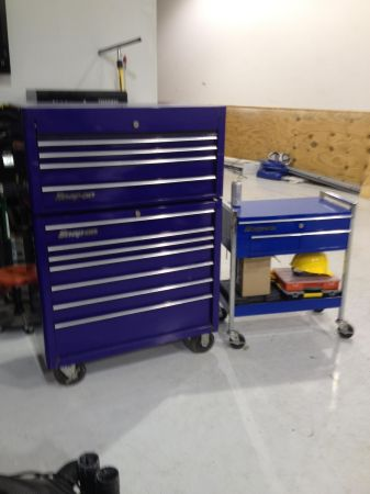 SNAP ON TOOL BOX - $2500 (Kenner)