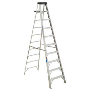 10 ft foot Aluminum Step Ladder 300 lb. Load Capacity Type IA Duty - $75 (Westbank (Algiers))