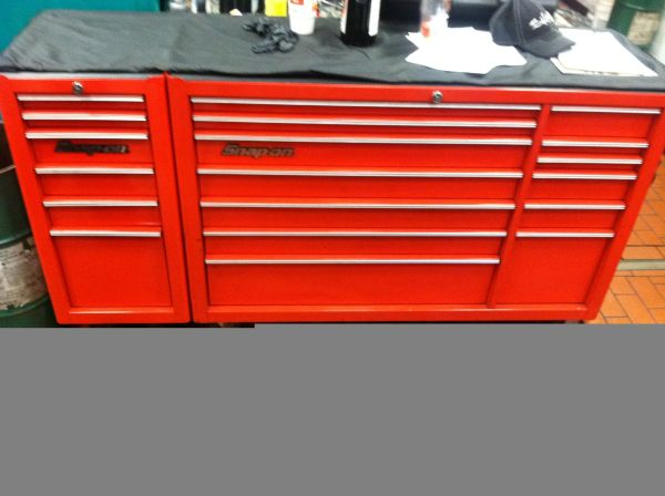 snap on triple bank heritage series tool box - $1800 (kenner)