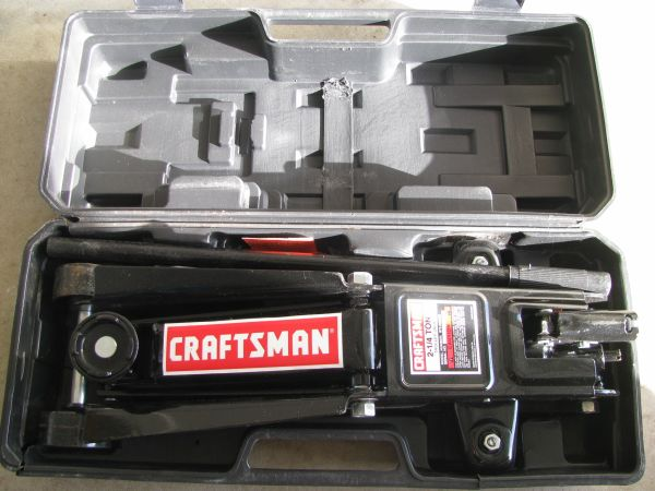 New Craftsman 2 14 ton Trolley jack with case - $40 (Picayune Slidell)