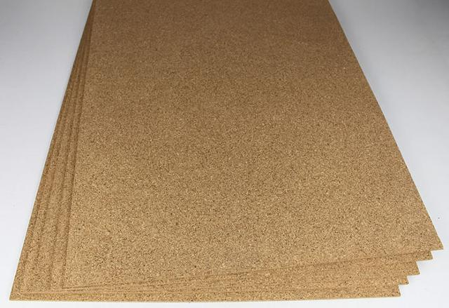 Cork Sheets Forna 3mm cork underlayment 24x 36 150sq ft