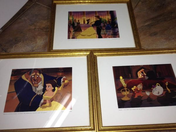 Disney Limited Edition lithographs - $10 (Metairie, LA)