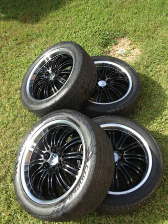 Chevrolet OEM 22 Rims and Tires - $775