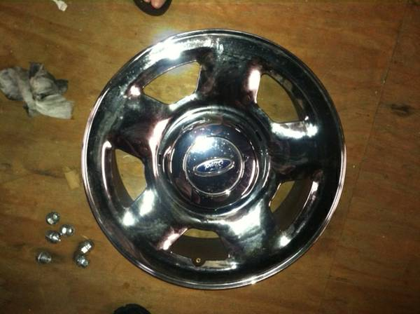 4 17 Ford F150 Rims - $250 (309 Harding St, Jefferson,La70121)