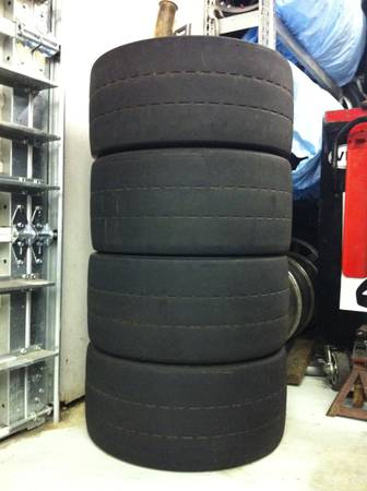 4 BFGoodrich g-Force R1 27540-17 competition road race tires - $295 (Covington)