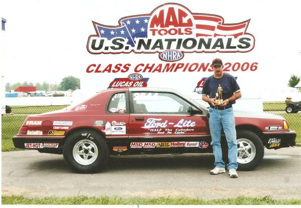 Set National Record NHRA - $5000 (Ocean Springs Ms)