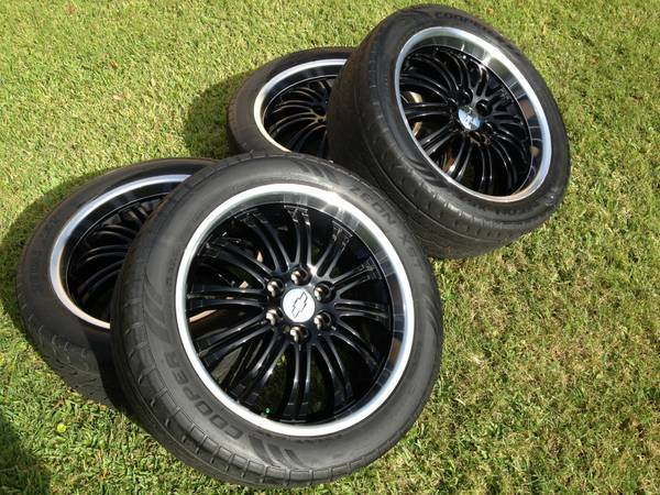 Stock 22 Rims and Tires ChevyGMC - $680