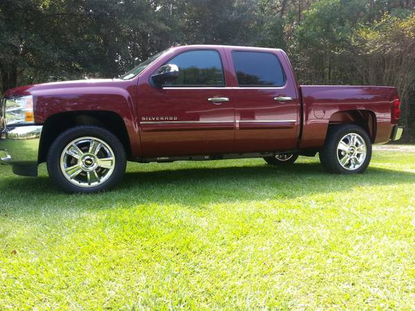 silverado 20s rims tires trade for 26