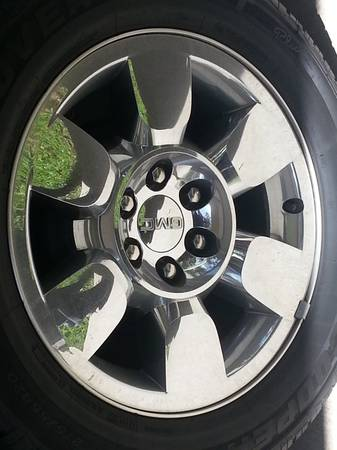 GMC 20 inch rims - $1050 (kenner)