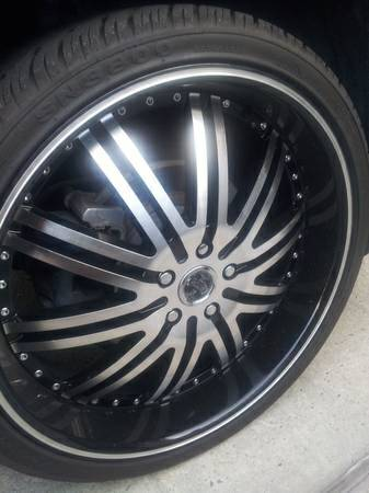 22 inch rims  - $900 (Westbank )