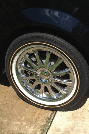 VOGUE tires and wheels - $400 (Metairie)