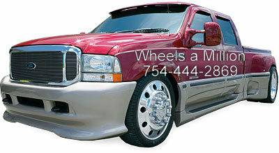 24s Alcoa Dually Rims w Tires Caps - $2699 (New Orleans)