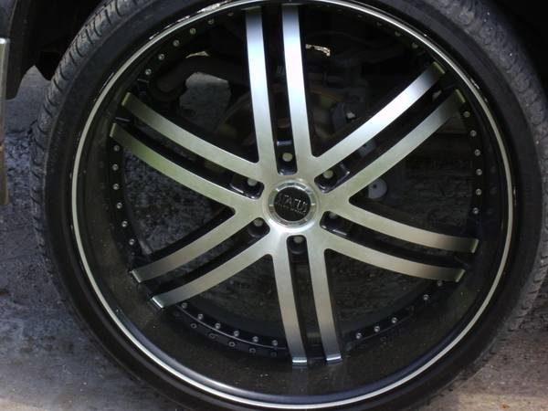 26 inch status rims and tires - $1500 (new orleans)