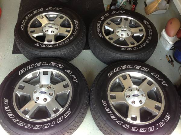 18 FORD FX4 F-150 Rims and Tires - $500 (Metairie)