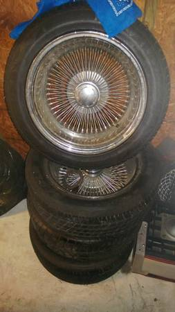 100 Spoke Dayton knock offs will fit on ANYTHING - $400 (BELLE CHASSE)