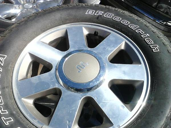 F150 OEM 18INCH KING RANCH WHEELS - $600 (WAVELAND)