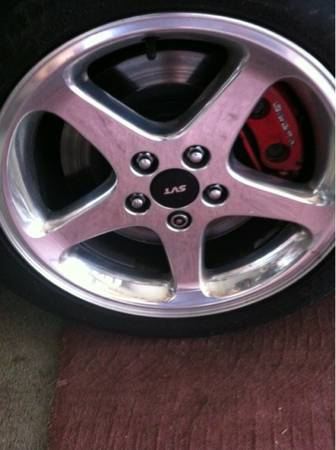 2001 SVT cobra rims and tires and other parts - $800 (Destrehan)