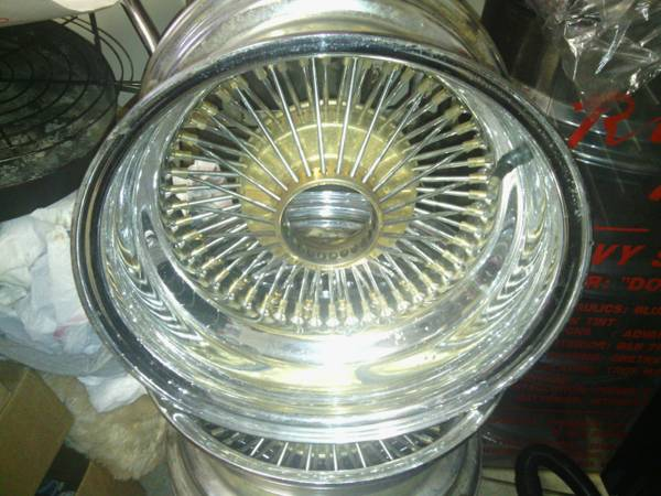 DAYTON WIRE WHEELS - $400 (mandeville)