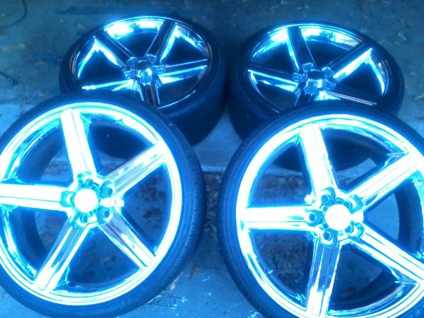 22 Iroc Wheels Rims and Tires - $1800 (Luling)