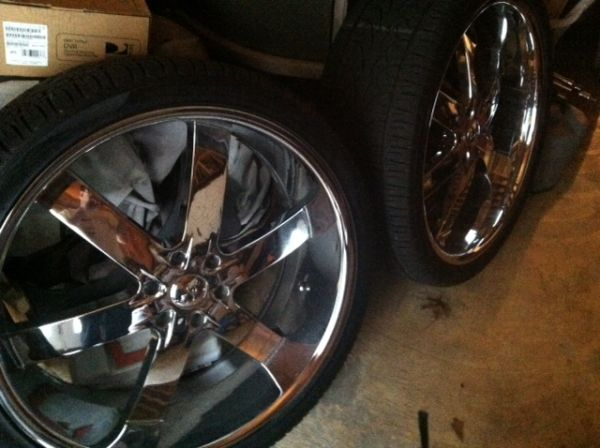 26 inch u2-55 wheels and tires - $1900 (metairie)