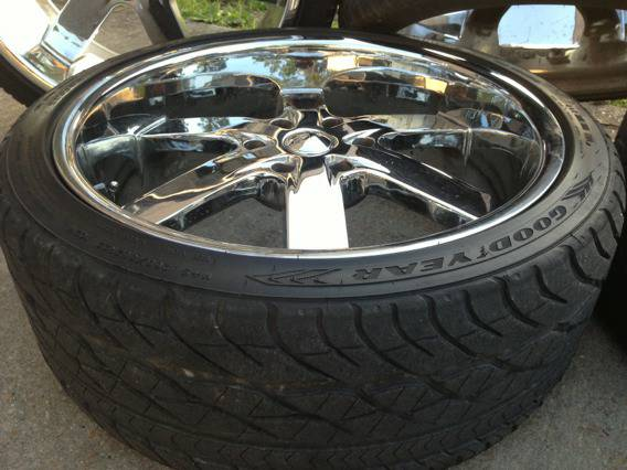 22 inch U2 55 rims and tires - $950 (Nola)