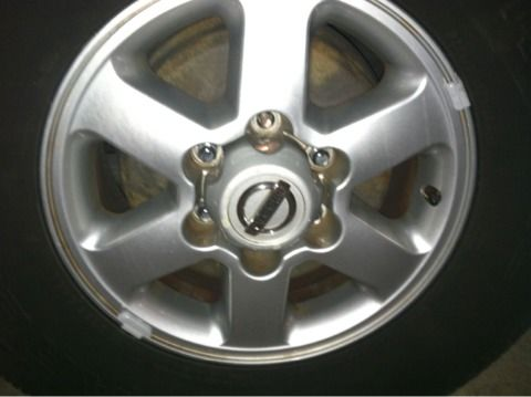03 nissan frontier rims and tires - $400 (Westwego Louisiana )