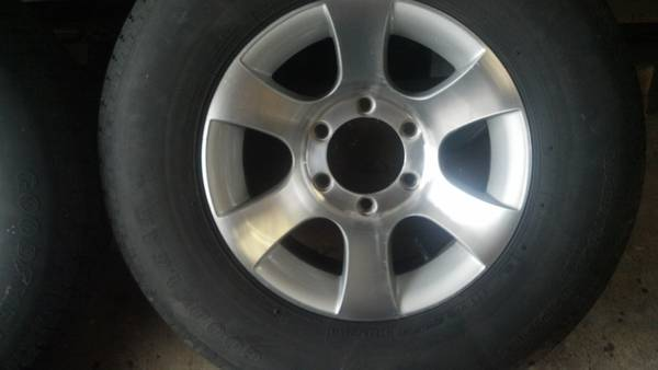Aluminum Trailer Wheels with Tires - $300 (Slidell, La)