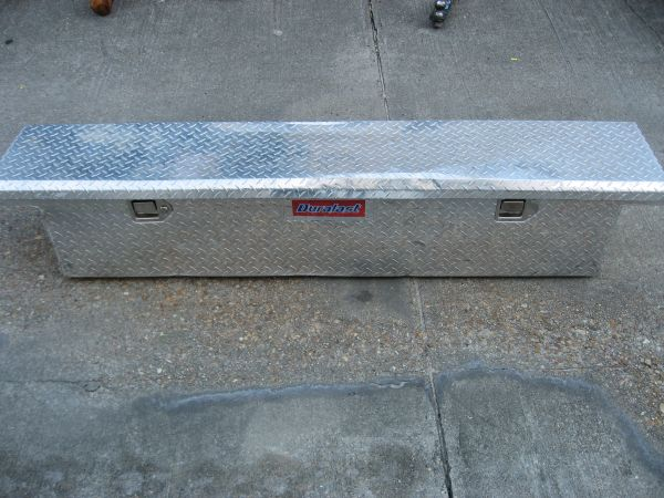 DURALAST TRUCK BED TOOL BOX - $100 (KENNER)