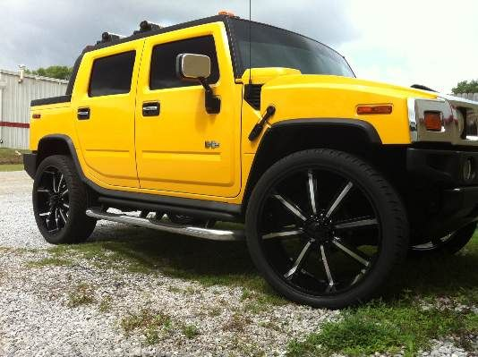 28 rims and tires hummer h2 - $3500 (Pensacola )