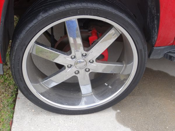 26 inch U2 55 rims and tires - $1500 (Slidell)