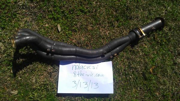 Race Header for 06 Civic Si - $260 (Metairie)