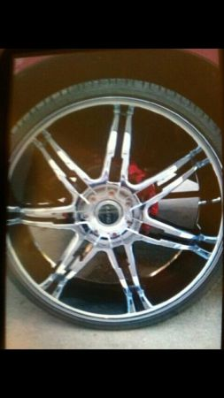 28 inch rims and tires - $1500 (Houma la)