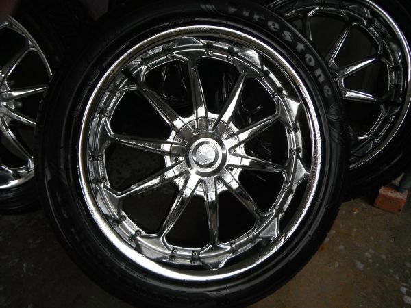 22 Rims and 4 like new Tires - $1295 (Metairie)
