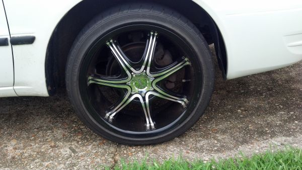 Pinnacle BlackMachined Rims w Tires - $750 (Slidell)