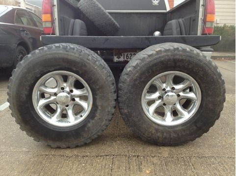 Off-road wheels and Mud tires - $300 (Mandeville)
