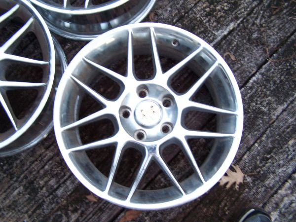 Vogue Rims for FWD Cadillac 17