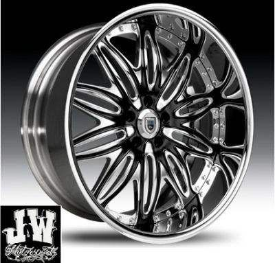 24 Inch Asanti Rims Tires Rim Light Kit - $3800 (New Orleans)
