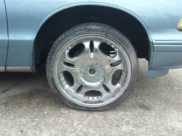 20 inch Chevy s10 Camaro rims and tires - $500 (metairie)